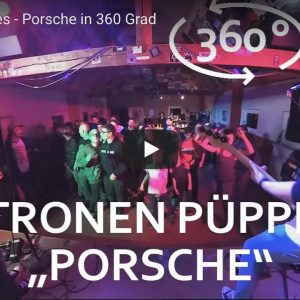 "360° Virtual Reality  |  Zitronenpüppies ""Porsche"""