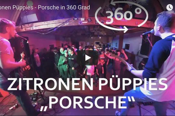 "360° Virtual Reality |  Zitronenpüppies ""Porsche"""