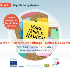 """Online Live-Seminar """"Digitale Kompetenzen"""""""